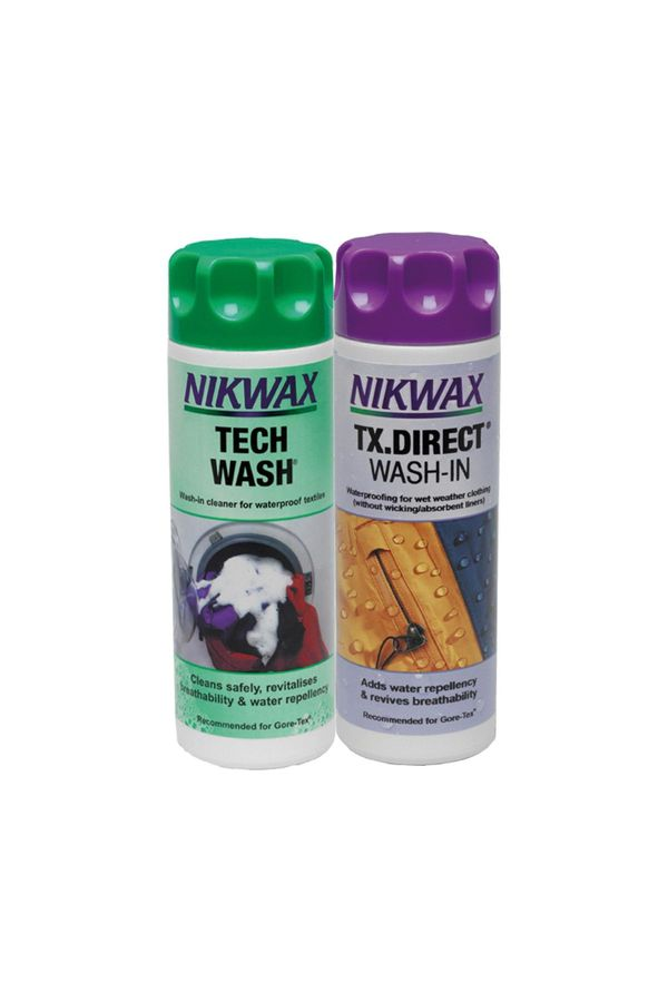Nikwax Duo-Pack mit Tech-Wash und TX.Direct Wash-in je 300ml