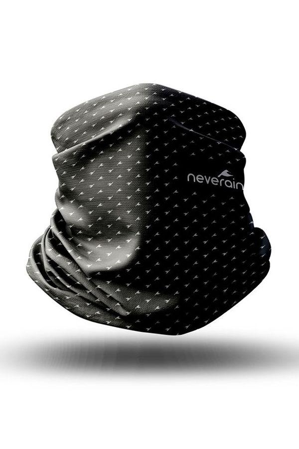 neverain Neck-Tube Schlauchschal schwarz grau 3D
