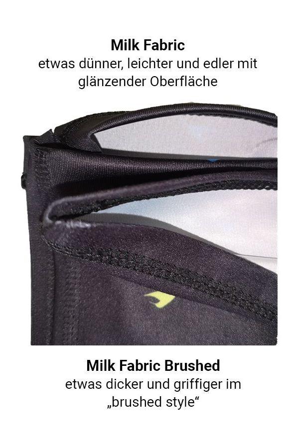 neverain Neck-Tube Schlauchschal Stoff unterschied schwarz